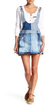 Free People Denim Patch Skirt Jumper