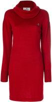 Vivienne Westwood roll neck jumper dress - women - Wool - S