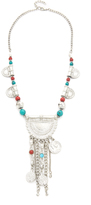 Raga Embellished Y Statement Necklace