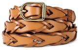 Mossimo Women's Vachetta Link Braid Belt