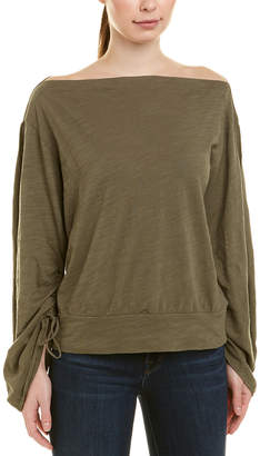 Heather H By Bordeaux Slouchy Top