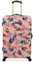 "Jessica Simpson Pineapple Hardside 25"" Spinner Suitcase"