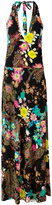 Etro floral print maxi dress - women - Viscose - 44