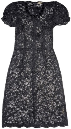 L'Agence Black Lace Dress for Women