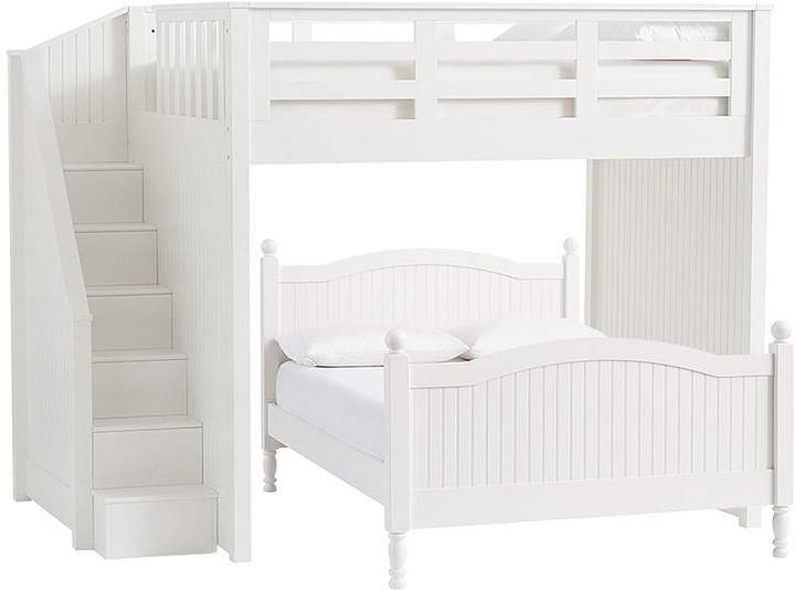 Catalina Stair Loft Bed & Full Bed