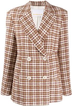 Remain Oversized Double Breasted Blazer Coat