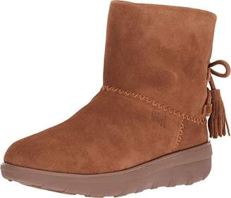 FitFlop Women's Mukluk Shorty II Boots with Tassels Ankle, Brown (Chestnut 047), 5.5 (38.5 EU)