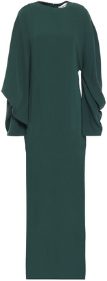 Chalayan Gathered Cady Maxi Dress