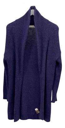 American Vintage Blue Wool Coats