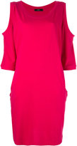 Diesel cut-out shoulder dress - women - Cotton/Polyester - XS