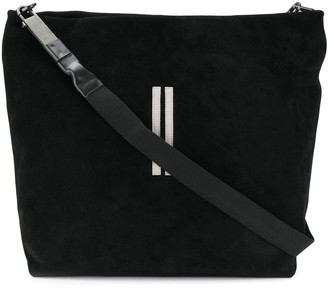 Rick Owens Two Stripe Shoulder Bag