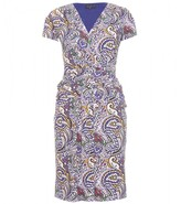 Etro PAISLEY PRINT WRAP DRESS