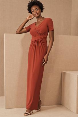 BHLDN Chelle Dress By in Orange Size 0