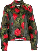 Coach Varsity jacket - women - Sheep Skin/Shearling/Polyester/Viscose - 4