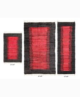 Thumbnail for your product : Home Weavers Burbank Accent Rug, 3 Piece Set Bedding