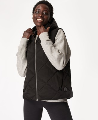 Sweaty Betty Pioneer Quilted Puffer Vest