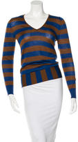 Etro Wool-Silk Blend Striped Sweater