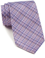Tommy Hilfiger Micro Plaid Silk Tie