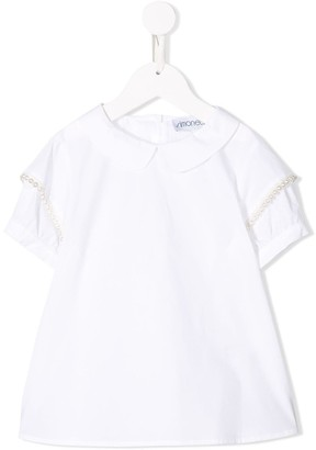 Simonetta peter pan collar blouse
