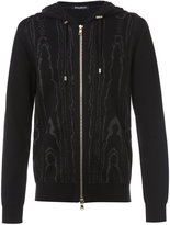 Balmain zip-down hoody - men - Cotton/Polyamide - L