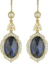 Penny Preville 18k Labradorite & Diamond Drop Earrings