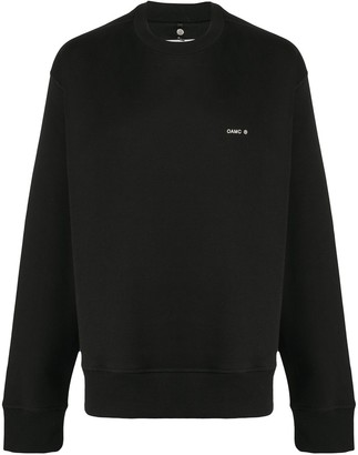 Oamc Crew-Neck Cotton Sweatshirt