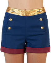 Bioworld Wonder Woman High-Waist Shorts - Adult & Plus