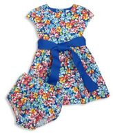 Ralph Lauren Baby's Two-Piece Floral-Print Dress & Bloomers Set