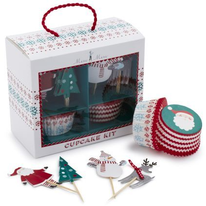Sur La Table Meri Meri Christmas Bake Cup Set
