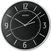 Seiko Silver Tone Quiet Sweep Wall Clock Qxa642slh