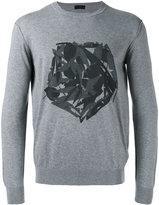 Z Zegna fox print sweatshirt