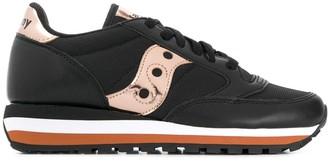 Saucony Metallic-Detail Low-Top Sneakers