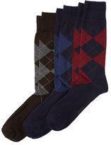 Polo Ralph Lauren Big & Tall Argyle Sock 3-Pack