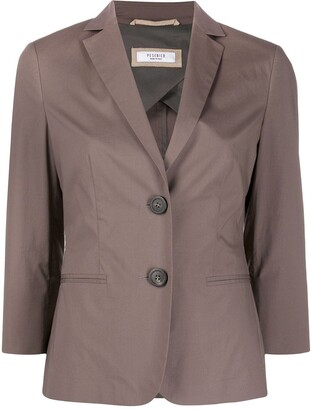Peserico Single-Breasted Suit Jacket