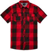 Burnside Short-Sleeve Woven Shirt - Boys 8-20