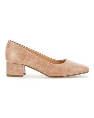 Jd Williams Flexi Sole Block Heel Shoes E Fit