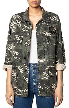 Zadig & Voltaire Kansas Camouflage Jacket