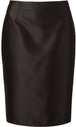 Martha Medeiros Zibeline Pencil Skirt