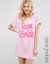 Asos BRIDAL Team Bride Sleep Tee