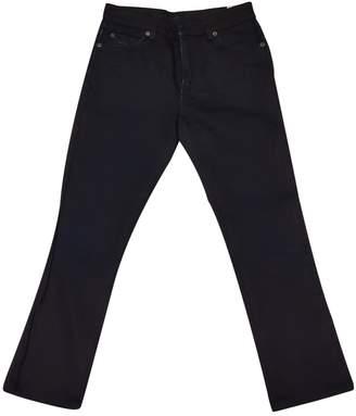Prada Blue Cotton Jeans