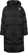 Burberry Detachable Hood Stretch Nylon Puffer Coat