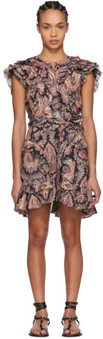 Isabel Marant Multicolor Xanity Tahatai Light Dress