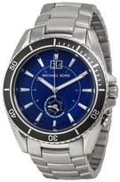 Michael Kors MK8400 Jetmaster Blue Dial Stainless Steel Mens Watch