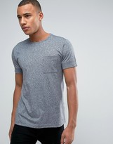 Esprit Slim Fit T-shirt with Pocket and Cuffed Sleeve