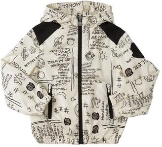 Moncler Flave Printed Nylon Jacket