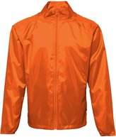 2786 Unisex Lightweight Plain Wind & Shower Resistant Jacket (S)