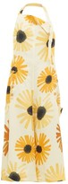 Jacquemus Tablier Sunflower-print Open-back Apron Dress - Womens - Yellow Multi