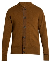 Oliver Spencer Milano Grosgrain-detail Merino-wool Cardigan