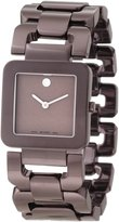 Movado Women's 0606574 Luma Brown PVD Watch