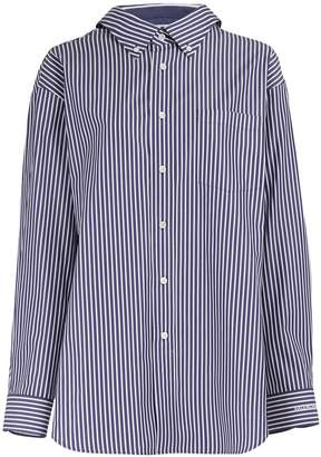 Balenciaga Swing striped shirt